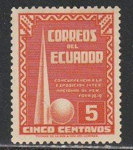Equateur  389  (N*)  1939