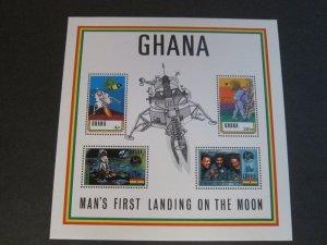 Ghana 1970 Sc 389a Bird,space set MNH