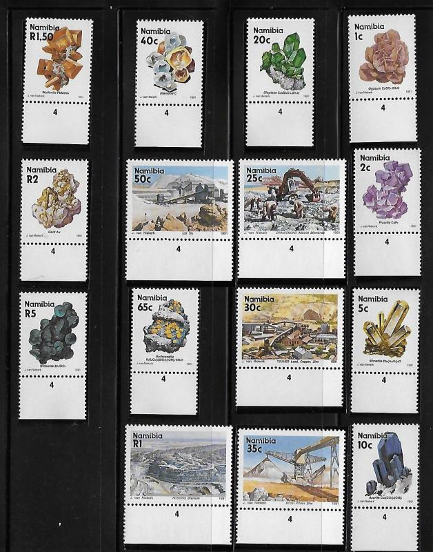 Namibia 1991 Minerals & Mines Definitive MNH A659