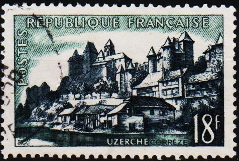 France. 1955 18f S.G.1266 Fine Used