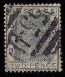 Gold Coast Sc #6 Green 2P Used F-VF (1879):