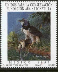 MEXICO 2164, Endangered Species, Harpy Eagle. MINT, NH. VF. (69)