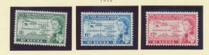 St. Lucia Scott #170 To 172, Mint Light Hinge Marks MLH, West Indies Federati...
