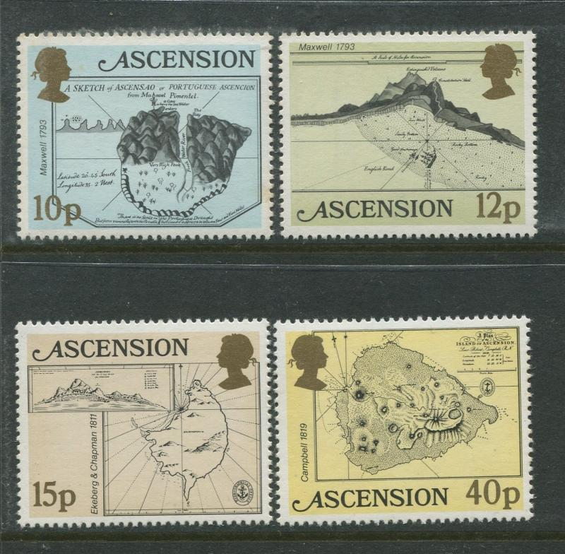 Ascension - Scott 289 - 293 - General Issue -1981 - MNH - Set of 4 Stamps