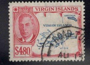 Virgin Islands  Scott 113 Used, key stamp to set