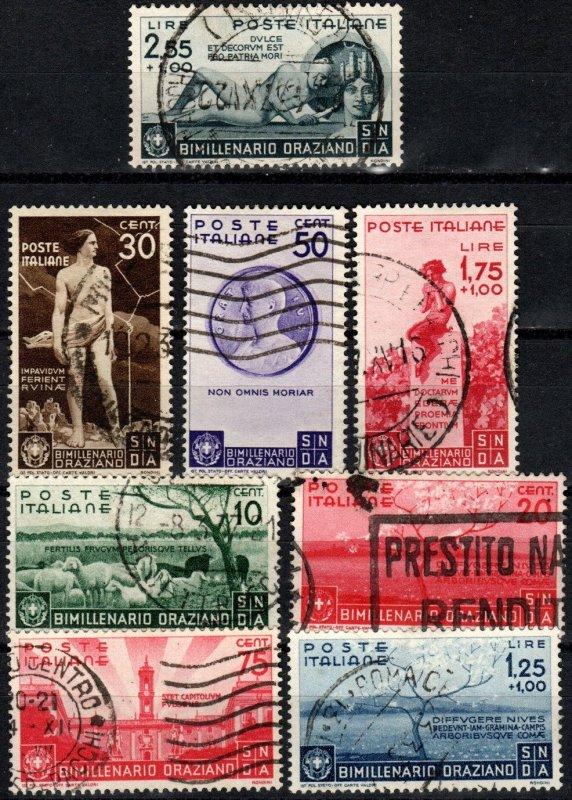 Italy #359-66  F-VF Used CV $826.85 (X3083)