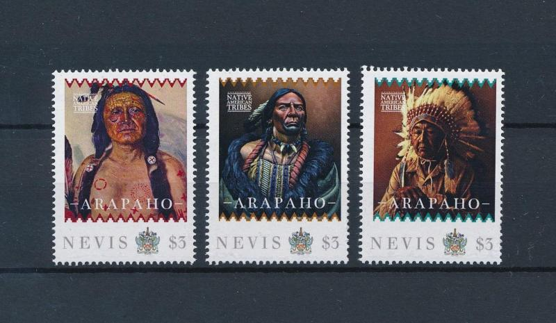 [80922] Nevis 2011 Native Americans Indians Arapaho MNH