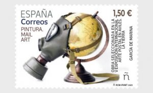Stamps Spain 2021- Mail Art - Mint.