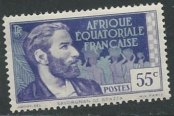 French Equatorial Africa  + Scott # 49 - MH