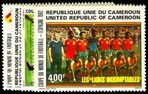 CAMEROUN 710-13  Mint (ID # 46135)