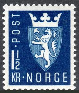 Norway 268, MNH. New National Arms of 1943, 1945