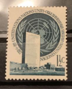U.N. N.Y 2 MNH