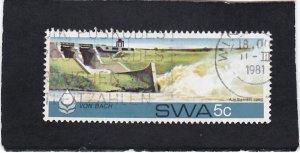 South West Africa,  #   467   used