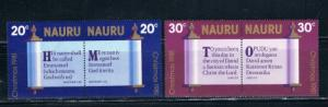Nauru 236-39 Set MNH Christmas (N0078)