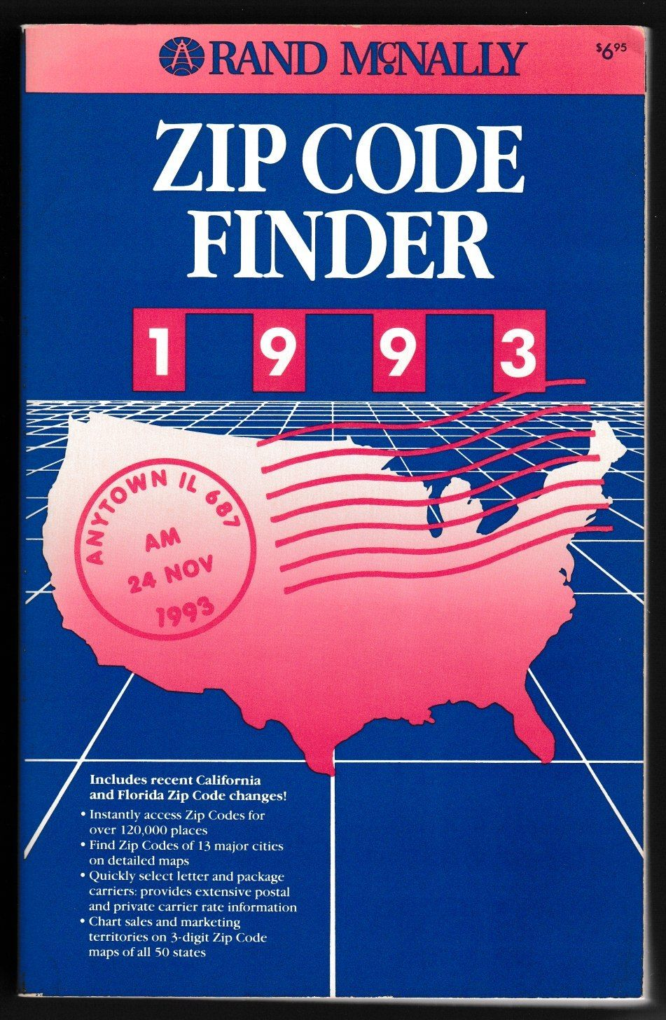 1993 Rand McNally Zip Code Finder Book / Free Shipping ...  States Zip Code on 50 states and their abbreviations, 50 states nicknames, 50 states addicting games, 50 states numbers, 50 states maps, 50 states places, 50 states colleges and universities, 50 states rivers, 50 states white pages, 50 states state, 50 states practice sheet, printable united states postal codes, 50 states numbered, 50 states dates, 50 states movies, 50 states year founded, 50 states quilt pattern, 50 states word bank, 50 states largest to smallest, 50 states coloring activity,