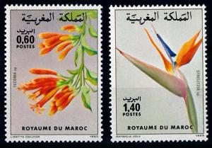 [67202] Morocco 1983 Flora Flowers Blumen  MNH