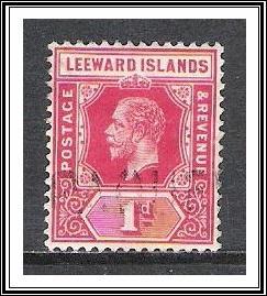 Leeward Islands #48 KG V Used