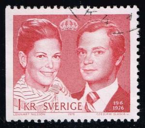 Sweden #1165 Royal Wedding; Used (0.25)
