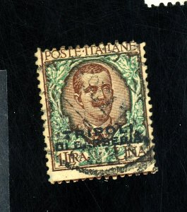 ITALY OFFICES IN AFRICA #10 USED AVE-FINE Cat $100