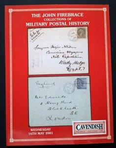 Auction Catalog JOHN FIREBRACE MILITARY POSTAL HISTORY Egypt Near East Holy Land