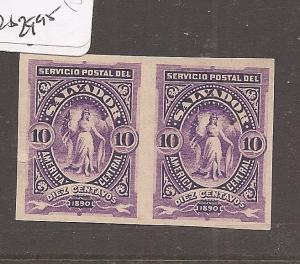 El Salvador plate proof pair 10c horizontal (13ayx)