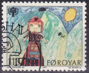 Faroe Islands #45 F-VF Used
