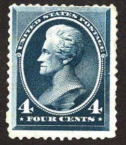 U.S. #211 Used Faint Cancel