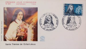 FDC France 1973 Commemorative First Day Cover 14704