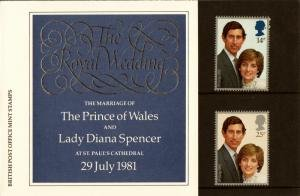 STAMP STATION PERTH Great Britain #950-951 Presentation Pack 127A MNH