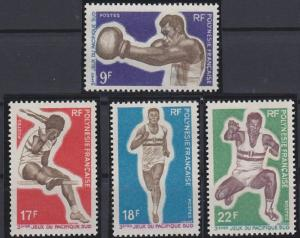 French Polynesia 247-250 MNH (1969)
