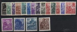 GDR  #155-71  Mint VF NH