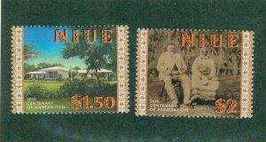 NIUE 763-4 MH CV $3.25 BIN $1.50