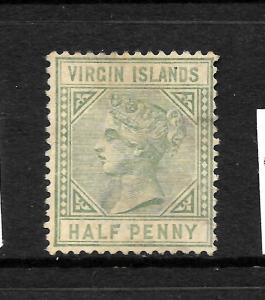 VIRGIN ISLANDS 1883  1/2d  QV  FU  SG 27