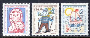 Czechoslovakia 887-889 MNH VF