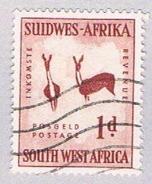 South West Africa 249 Used Rock Painting 1954 (BP26324)