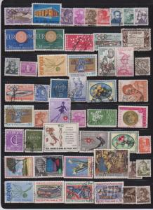 LOT OF DIFFERENT STAMPS OF ITALY USED (51) LOT#154