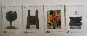 Hong Kong 1989 Modern Art Stamps MNH