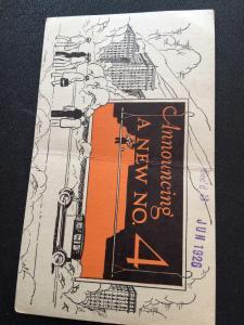 American Postal Card  1926