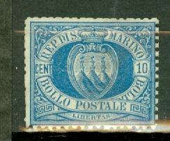 San Marino 7a unused no gum blunted perfs CV $3600