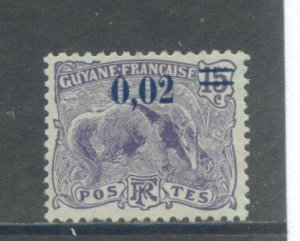 French Guiana 95  MNG