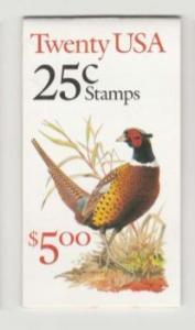 U.S. Scott #2283a BK158 Pheasant Stamp - Mint NH Booklet - Unopened