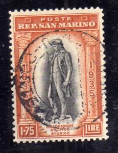 REPUBBLICA DI SAN MARINO 1935 CENTENARIO MORTE MELCHIORRE DELFICO CENTENARY D...