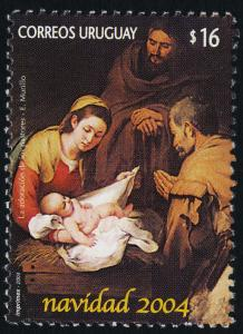 Uruguay 2096 MNH Christmas, Nativity