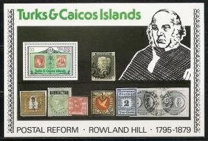 Turks and Caicos Islands 396a 1979 Rowland Hill s.s. MNH
