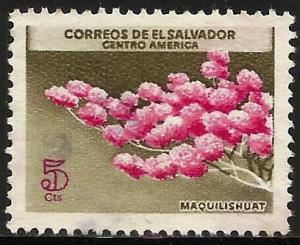 El Salvador 1965 Scott# 752 Used