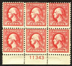MALACK 528 F/VF OG Hr, 3 stamps NH, Fresh! pb2500