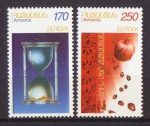 EUROPA CEPT 2003 ARMENIA POSTERS POMEGRANATE SET OF 2 MNH R2021306