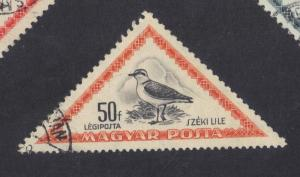 Hungary  1952  used  Air birds 50fi. #