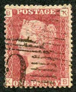 British Levant SG Z74 Penny Plate 121 with Constantinople C Postmark