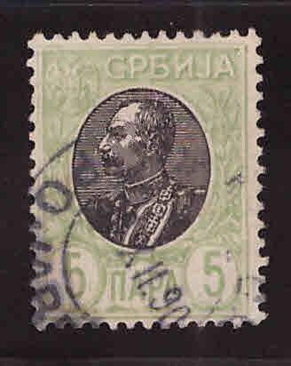 Serbia Scott 88  Used stamp